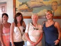 Gail, Laurel, Kathleen & Ashley (Great Grandaughters, Grandaughter & Daughter of Chi Chi)